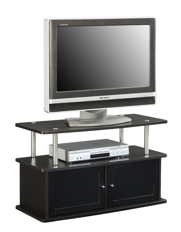 Convenience Concepts Designs2Go TV Stand with 2 Cabinets 325