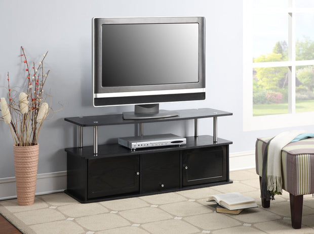 Convenience Concepts Designs2Go TV Stand with 3 Cabinets 319
