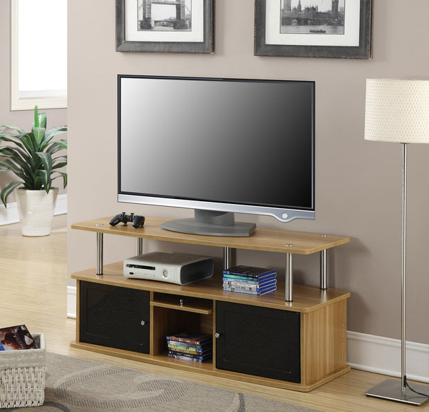 Convenience Concepts Designs2Go TV Stand with 3 Cabinets 358