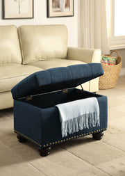 Convenience Concepts Designs4Comfort 5th Avenue Storage Ottoman 667