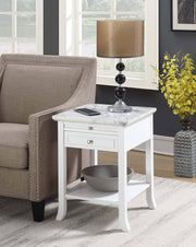 Convenience Concepts American Heritage Logan End Table with Drawer and Slide 570