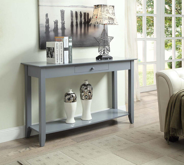 Convenience Concepts American Heritage Console Table with Drawer  473