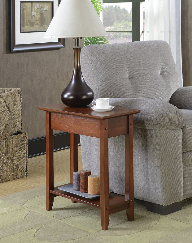 Convenience Concepts American Heritage Flip Top End Table 499