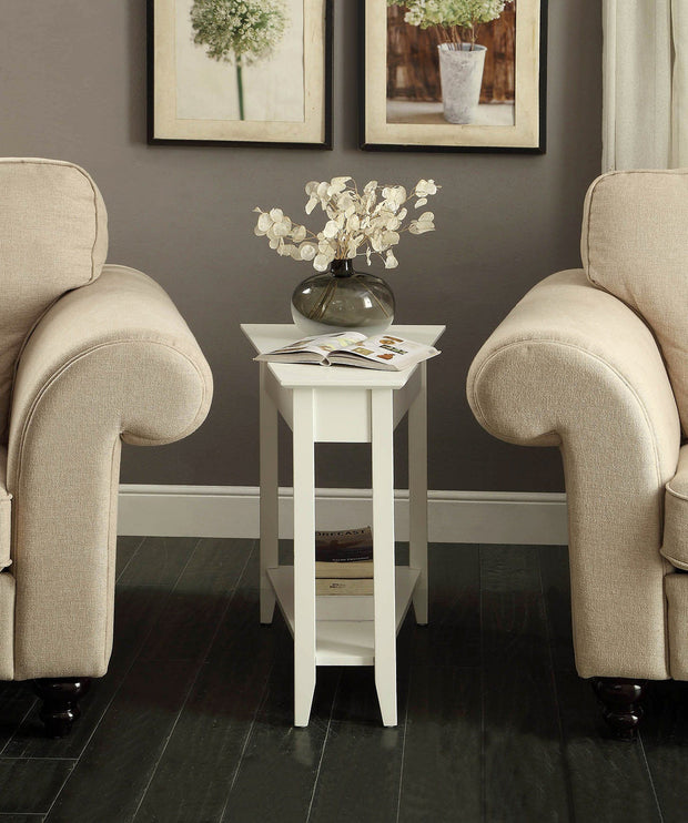 Convenience Concepts American Heritage Wedge End Table 468