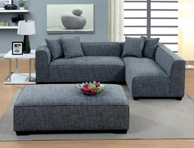 Furniture of America Sorvino Contemporary Sectional Sofa