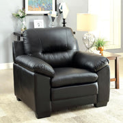 Furniture of America Tory Contemporary Chair in Black