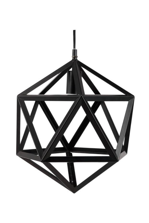 Furniture of America Greico Contemporary Style Lamp, Black