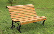 Furniture of America Bertina Cottage Style Slat Back Outdoor Patio Bench