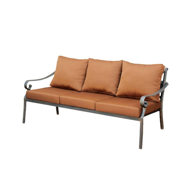 Furniture of America Torrey Contemporary Style Outdoor Patio Sofa