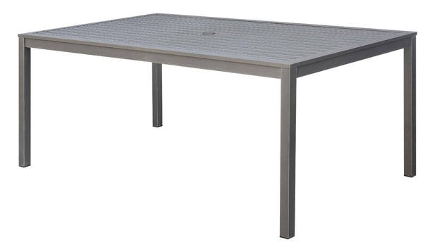 Furniture of America Bensin Contemporary Style Outdoor Patio Dining Table