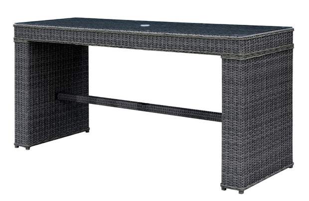 Furniture of America Vinson Contemporary Style Outdoor Patio Bar Table
