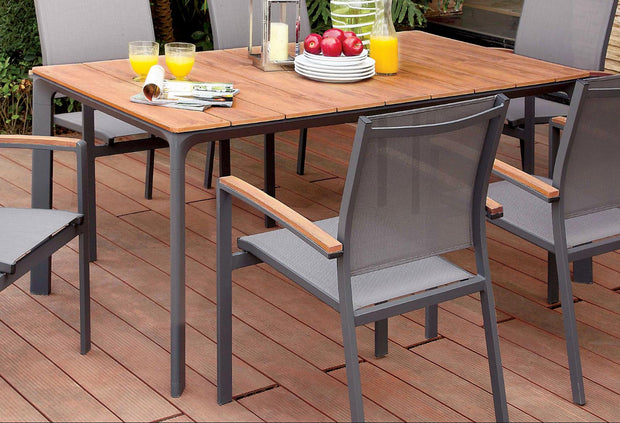 Furniture of America Sevilla Contemporary Style Outdoor Patio Dining Table