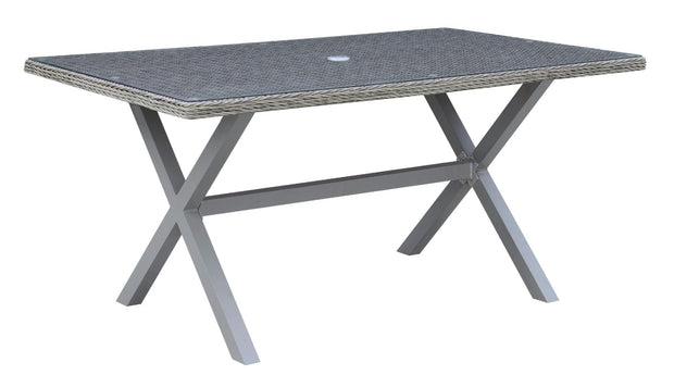 Furniture of America Yolin Contemporary Style Outdoor Patio Dining Table