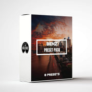 Benz Lightroom Preset Pack - 8 Presets.