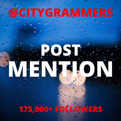 CityKillerz @Citygrammers Post Mention