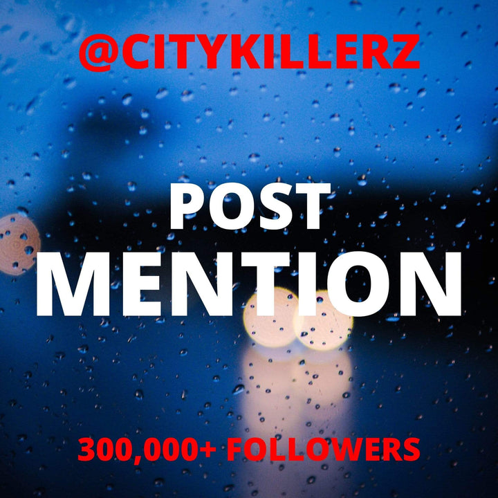 CityKillerz @Citykillerz Post Mention