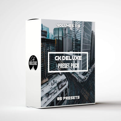 CK Deluxe Vol 1-3 Bundle Lightroom Preset Pack - 85 Presets.