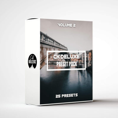 Ck Deluxe Vol. 2 Lightroom Preset Pack - 25 Presets.