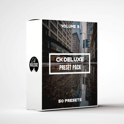 Ck Deluxe Vol. 3 Lightroom Preset Pack - 50 Presets.