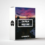 Ck Film Lightroom Preset Pack - 5 Presets.