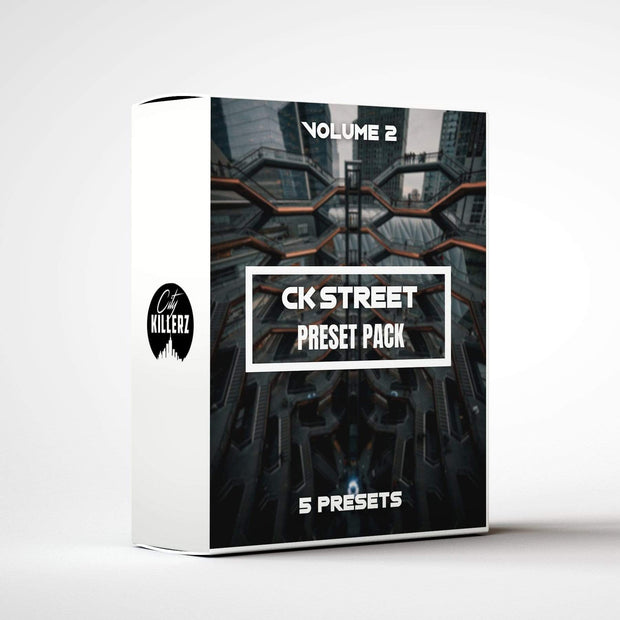 Ck Street Vol. 2 Lightroom Preset Pack - 5 Presets.