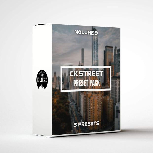 Ck Street Vol. 3 Lightroom Preset Pack - 5 Presets.