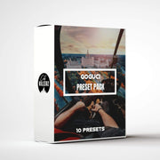 GoGuci Lightroom Preset Pack - 10 Presets.
