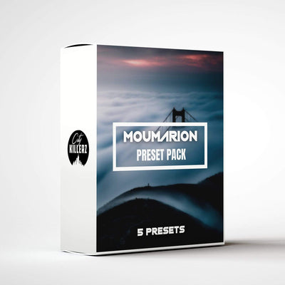 Moumarion Lightroom Preset Pack - 5 Presets.