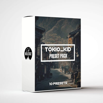 Tokio_kid Lightroom Preset Pack - 10 Presets.