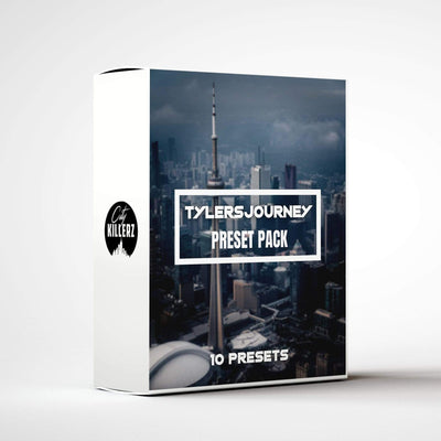 Tylersjourney Lightroom Preset Pack - 10 Presets.