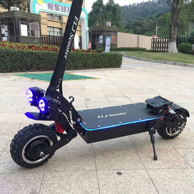 New Arrival - FLJ SK3 72V 7000W Electric Scooter