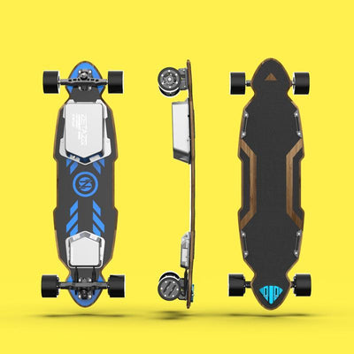 Brand new Electric Skateboard from ZETAZS with CNC Ultra Precision Truck