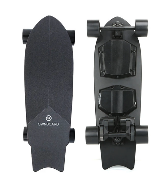 Another epic Mini Kicktail Electric Skateboard from Ownboard. This one is has Dual Belt Motors!!!