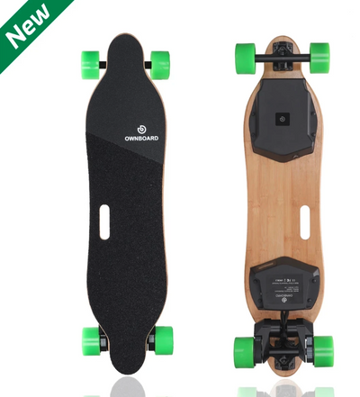 "Epic Dual Belt Motor -  Ownboard W2 (38"") - Electric Skateboard with Dual Belt Motor"