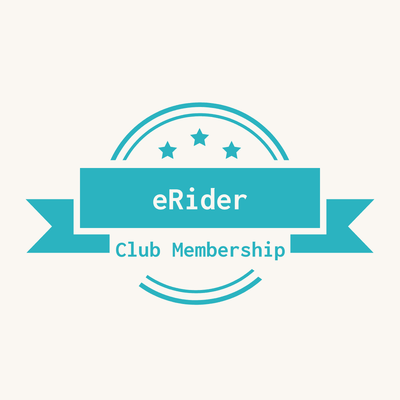 eRider is extending its free Club Membership in 2020!