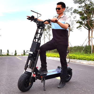 eRider Australia is happy to present our brand new arrival -  The FLJ K6 13inch Fat Wheel Electric Scooter with 90-150kms 6000W Range Dual Engine 40Ah or 50AH Panasonic Battery