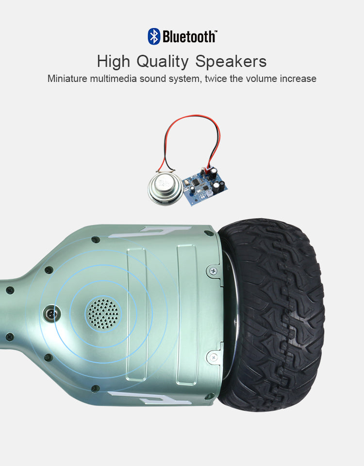 Manake MK 024 - The Hummer type hoverboard with light - eRider