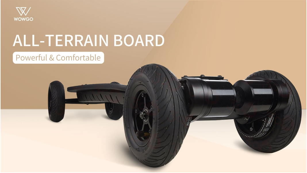 WowGo All-Terrain 2 Electric Skateboard - eRider.com.au