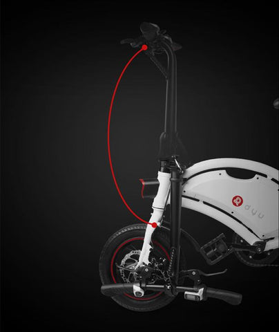 DYU D2+ Smart Electric Bike | eRider.com.au