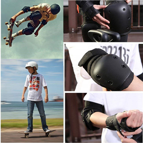 Maxfind Gear Skating Knee Elbow Wrist Protective Pads