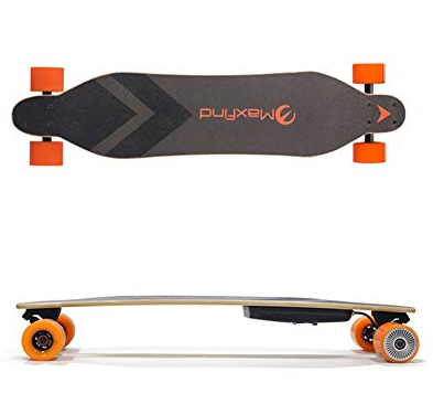 Maxfind A&B Series - Four Wheel Electric Longboard Skateboard Max A&B Single Motor Wireless Remote Controller - eRider