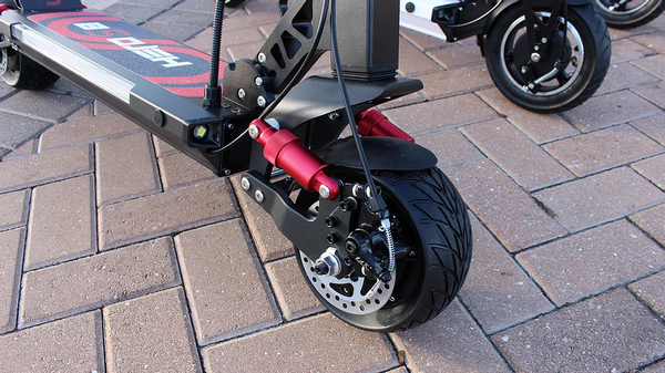 Hero S8 All Terrain S Performance Electric Scooter - eRider.com.au