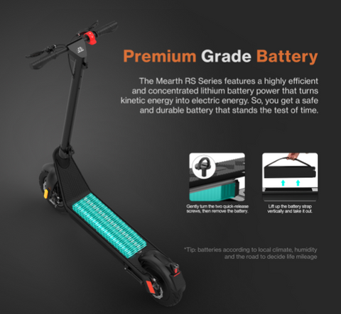 Mearth RS Electric Scooter | eRider.com.au