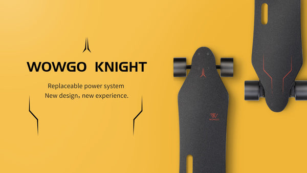 WowGo Knight Electric Skateboard & Longboard Hub & Belt Motors - eRider.com.au