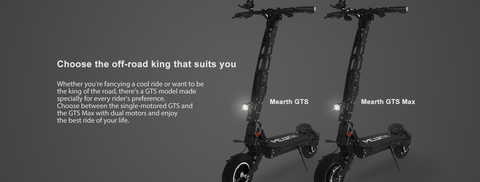 Mearth GTS and GTS Max Off Road Electric Scooter | eRider.com.au