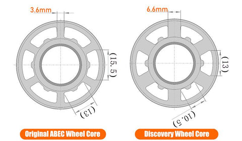 CLOUDWHEEL Discovery 120mm/105mm Urban All Terrain Off Road Electric Skateboard Wheels For Exway Boards Wheel Pulley Kit - eRider.com.au