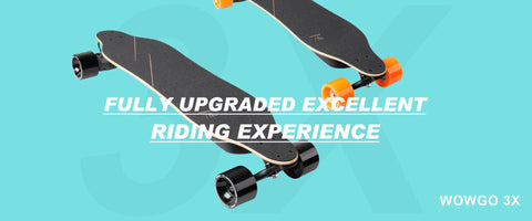 WowGo 3X Belt Driven Electric Skateboard & Longboard - eRider.com.au