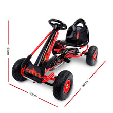 Load image into Gallery viewer, RIGO Kids Pedal Go Kart Car Ride On Toys Racing Bike Red - eRider.com.au