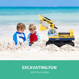 Keezi Kids Ride On Excavator - eRider