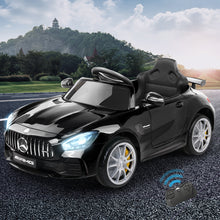 Load image into Gallery viewer, Kids Ride On Car Mercedes Benz AMG GT R Electric Black - eRider.com.au
